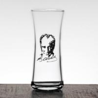 Joy Glass Atatürk Resimli 6 Lı Rakı Bardağı