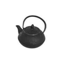 İkram Dünyası Bambum Linden - Nergis 800 Ml Siyah Döküm Çaydanlık