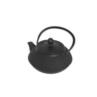 İkram Dünyası Bambum Linden - Sümbül 800 Ml Siyah Döküm Çaydanlık