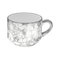 İkram Dünyası Bonna Rocks - Black Kahve Fincanı 210Cc