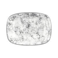 İkram Dünyası Bonna Rocks - Black Dikdörtgen Tabak 14Cm