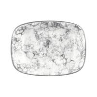 İkram Dünyası Bonna Rocks - Black Dikdörtgen Tabak 17Cm