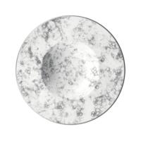 İkram Dünyası Bonna Rocks - Black Çukur Tabak 28Cm