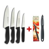 Mutfak Şef Seti Sürmene Bıçağı - ( 4 Ad.Bıçak + 1 Ad. Özel Victorinox Soyacak )