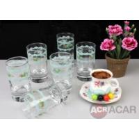 Acar Vintage Kahve Yanı Bardak 6 Adet
