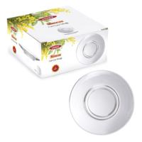 Vidrex 6'Lı Mimoza Cam Çay Tabağı