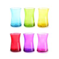 Cutechef Kitchen 6'Lı Transparan Cam Çay Bardağı 165 Ml