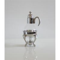 Beyler Cam Çay Isıtıcısı Mumlu Çaydanlık