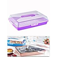 Kitchen Love Kapaklı Taşımalı,Pasta&Börek Kutusu