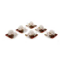 Vitale 6'lı Kahve Fincanı Seti - Turkey