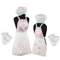 Tantitoni Little Chef Anne-Kız 6 Parça Önlük Seti