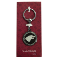 Game Of Thrones Siyah Anahtarlık Stark