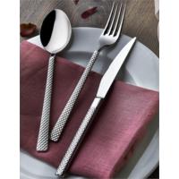 Visuel Elegance Collection Petek 24 Parça Çatal Kaşık Bıçak Seti ÇKB (3 Mm. Kalınlık)