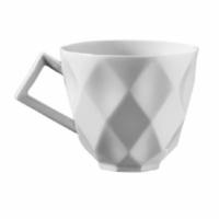 İkram Dünyası Kütahya Porselen Markiz Serisi Çay Fincanı Tabaklı 6'Lı
