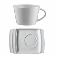 İkram Dünyası Kütahya Porselen Safir Serisi Çay Fincanı Tabaklı 200 CC