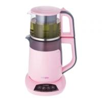 Cookplus Tea Leaves Sesli ve Işıklı Çay Makinesi Pembe