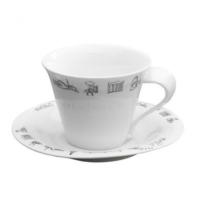 Emsan Anadolu 6 Lı Çay Fincan Seti Beyaz