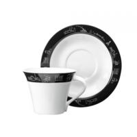 Emsan Anadolu 6 Lı Çay Fincan Seti Siyah
