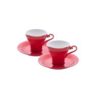Emsan Versay 6'lı Kahve Fincan Takımı Kırmızı