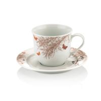 12 Parça Diva Porselen Çay Fincanı SHF360