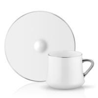 Sufı Çay Fincan Seti 6lı Platin