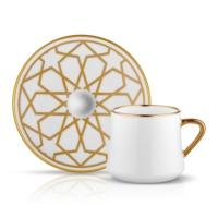 Sufı Çay Fincan Seti 6lı Yıldız