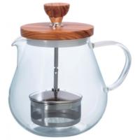Hario Pull Up Teaor Wood Tea Pot 700Ml