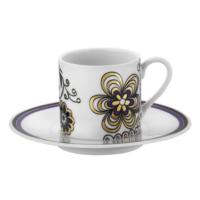 Kütahya Porselen Rüya 9017 Desen Kahve Fincan Takımı