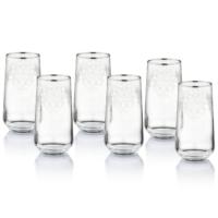 Pierre Cardin Classy 6 Parça Cam Meşrubat Bardağı
