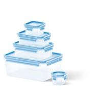 Tefal Clip&Close Fresh 5'li Saklama Kabı Seti 3,70 L + 1 L + 0.55 L + 0.25 L + 0.15 L