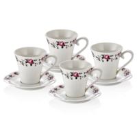 Neva N742 Alvita 4`Lü Çay Fincan Seti