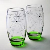 Başak 41020 Taç (Yeşil) 12 Adet Barrel Meşrubat Bardağı