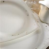 Kütahya Porselen Aliza Bone 83 Parça 25152 Desenli Yemek Takımı