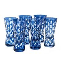 Altıncı Cadde Shot Bardağı Set 6Lı Mavi