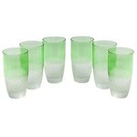 Altıncı Cadde Meşrubat Bardağı 6Lı Yeşil