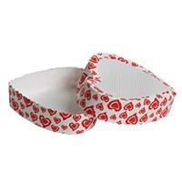 KullanAtMarket Kırmızı Kalp Kek Kalıbı