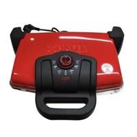 Schafer Nostalgie Granit Kaplamalı Tost Makinesi Kırmızı