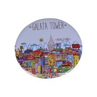Biggdesign Smiling Istanbul Galata Magnet Açacak