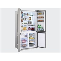 Arçelik 8844 SBS NY A+ 610 Lt Inox Gardrop Tipi İyonizer Özellikli Buzdolabı