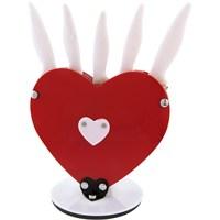 Rooc Kalpli Beyaz Bıçak Seti Kl-1504