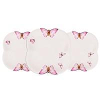Taç 6 Parca Butterfly 23Cm Tabak Seti
