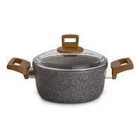 Karaca Silver Stone Bio Granit Tencere 20 Cm