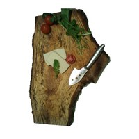 Atölye2e Şef-Doğal Ağaç Dilimli Peynir Sunum Tahtası
