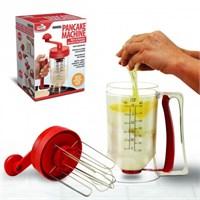 Bluzen Pancake Machine Mikser Krep Makinesi