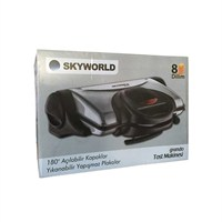 Skyworld Grando Tost Makinası 8 Dilim Kapasitesi