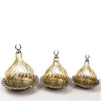 Mukko Home Osmanlı Cam Lokumluk-Altın