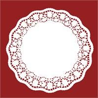 Fackelmann Pasta Örtüsü Beyaz Kağıt 36Cm 12 Adet