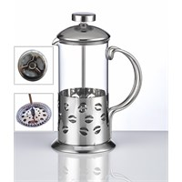 Fidex Home French Press-Paslanmaz Ve Süzgeçli