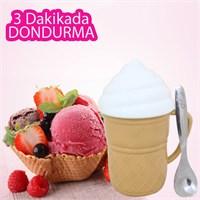BlueZen Dondurmatik Pratik Dondurma Yapma Makinesi