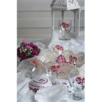 Keramika Sweet Love Red 6Lı Mesrubat Bardak